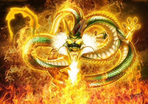 dragões espiritismo